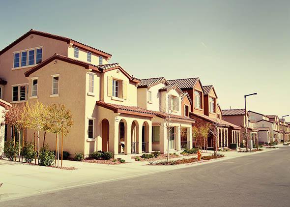Quiet suburban neighborhood.