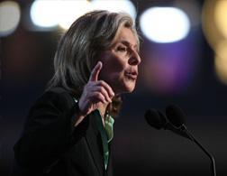 Senator Barbara Boxer. Click image to expand.