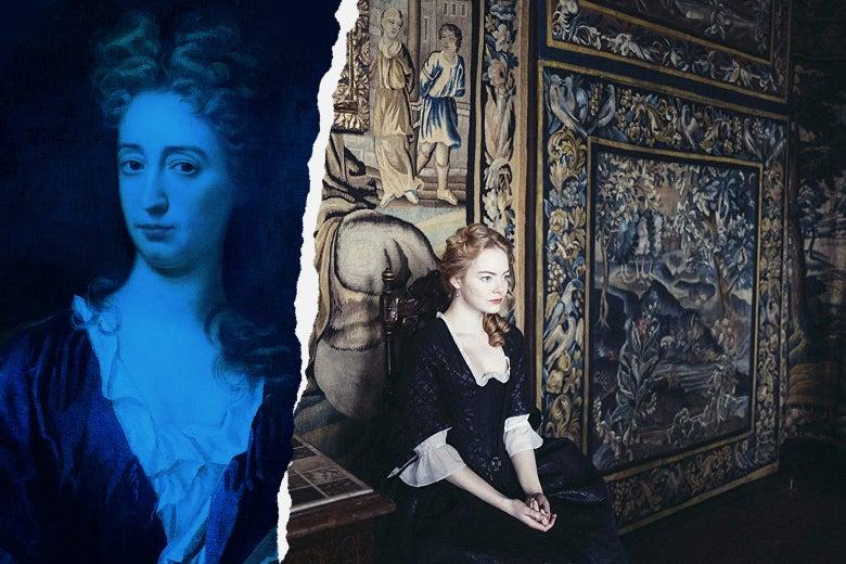 Portrait of Abigail Hill, Emma Stone as Abigail Hill