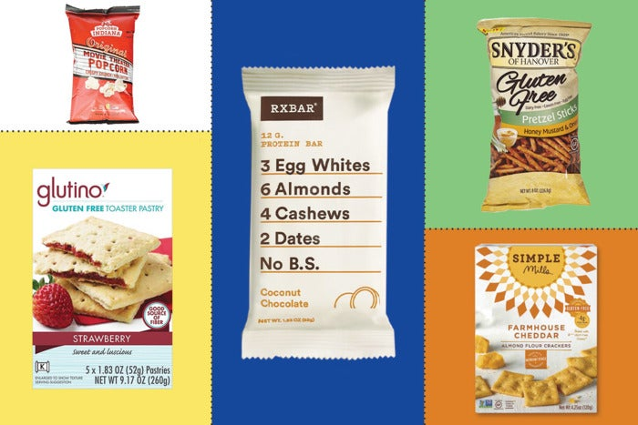 Composite of some of the snacks mentioned below.