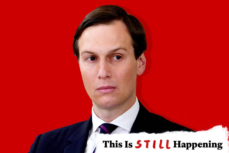 Jared Kushner looking stern.