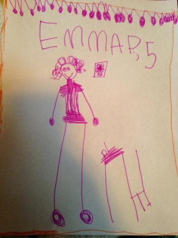 Emma, age 5.