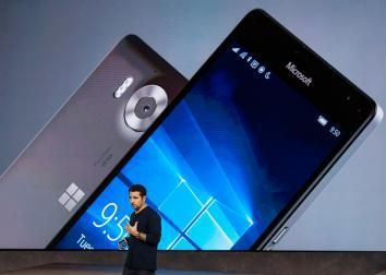 Microsoft Lumia 950 and Lumia 950 XL.