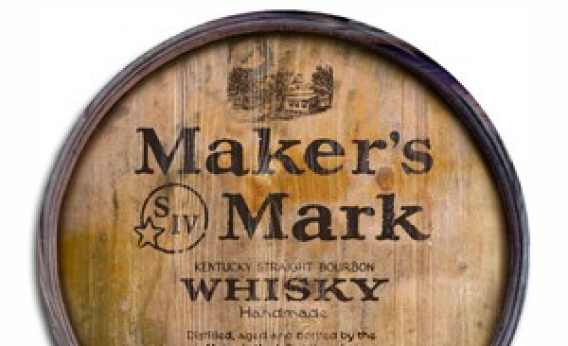 Maker's Mark barrel