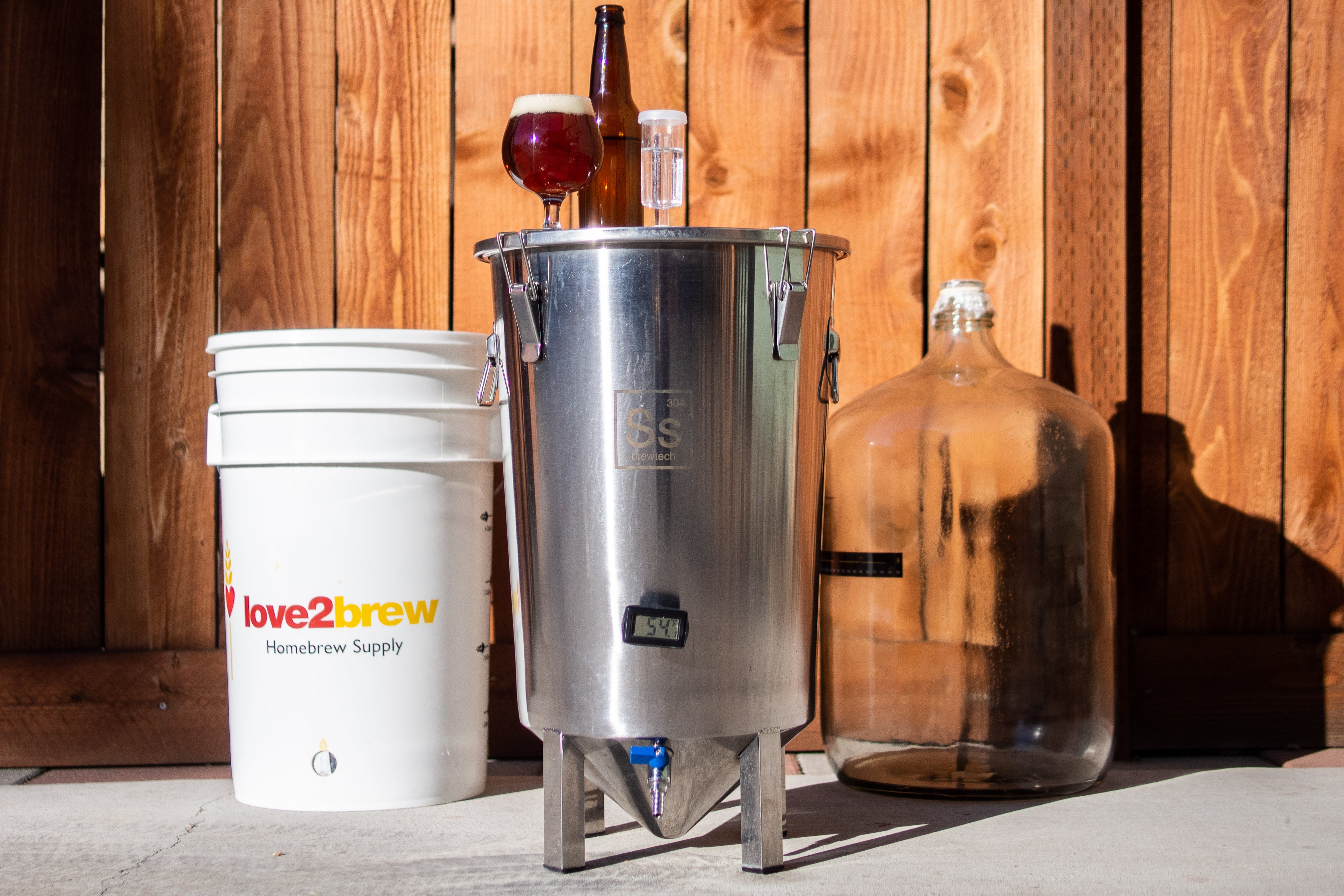 SS BrewTech Brew Bucket 7 Gal. Brewmaster Edition