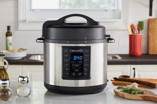 Crock-Pot 6 Qt 8-in-1 Multi-Use Express Crock Programmable Slow Cooker.