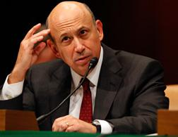 Lloyd Blankfein, chairman and CEO of The Goldman Sachs Group. Click image to expand.