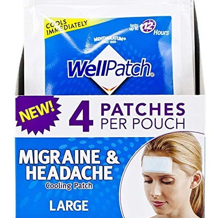 WellPatch Migraine & Headache Cooling Patch
