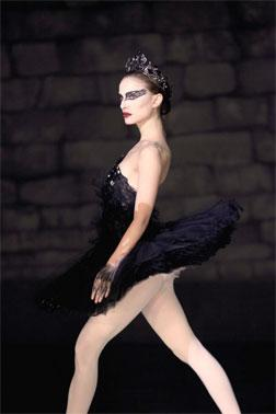 "Natalie Portman in ""Black Swan."""