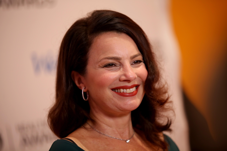 Fran Drescher, smiling.