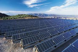 A solar-energy source in Mt. Laguna, Calif.