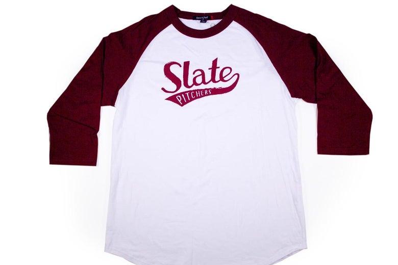 """""""Slate Pitchers"""" softball T-shirt"""