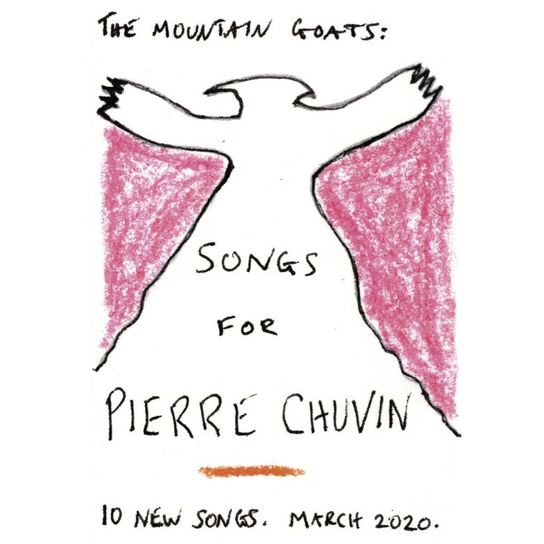 Cover of Songs for Pierre Chuvin.