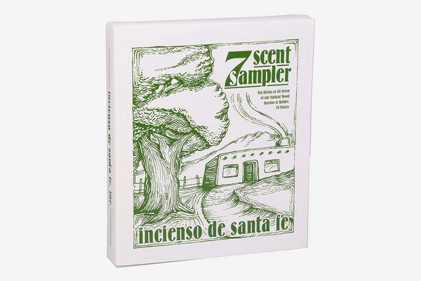 Incienso de Santa Fe 7 Scent Sampler Wood Incense