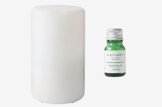 Muji Aroma Diffuser With Essential Oil Set.