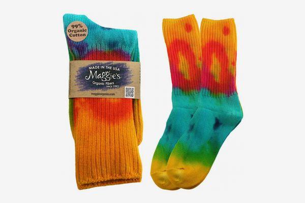 Maggie's Tie Dye Classic Cotton Crew Socks
