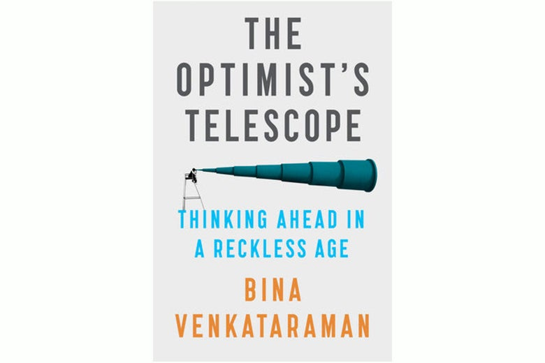 The cover of The Optimist's Telescope.