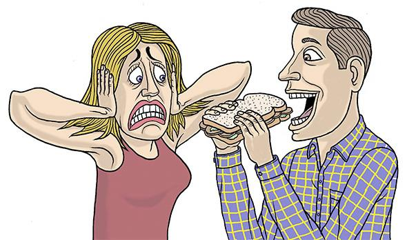 Misophonia Research Disorder Of Irritation By Chewing Lip Smacking