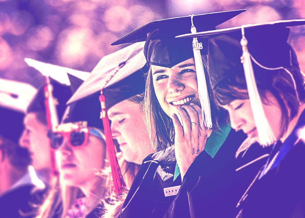 half of college graduates think college wasn't worth it.