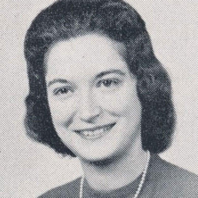Yearbook photo of Alice Vogel Stroh.