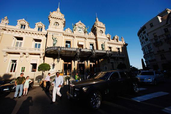 The Casino de Monte Carlo.