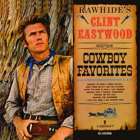 Album cover for Rawhide's Clint Eastwood Sings Cowboy Favorites