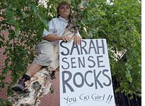 Sarah Palin supporter. Click image to expand.