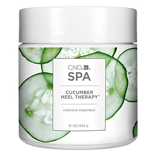 jar of CND Cucumber Heel Therapy