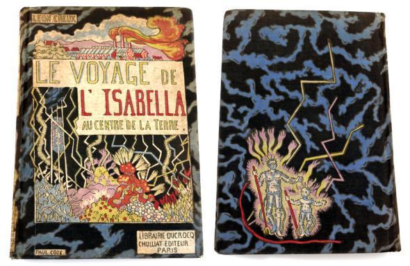 Le Voyage de L'Isabella au Centre de la Terre by Leon Creux, from 1922.