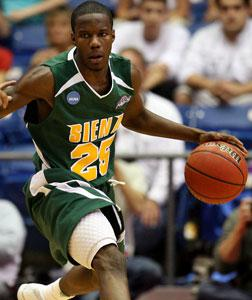 Ronald Moore of the Siena Saints. Click image to expand.