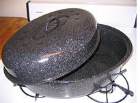 Granite Ware USA Roaster with Lid