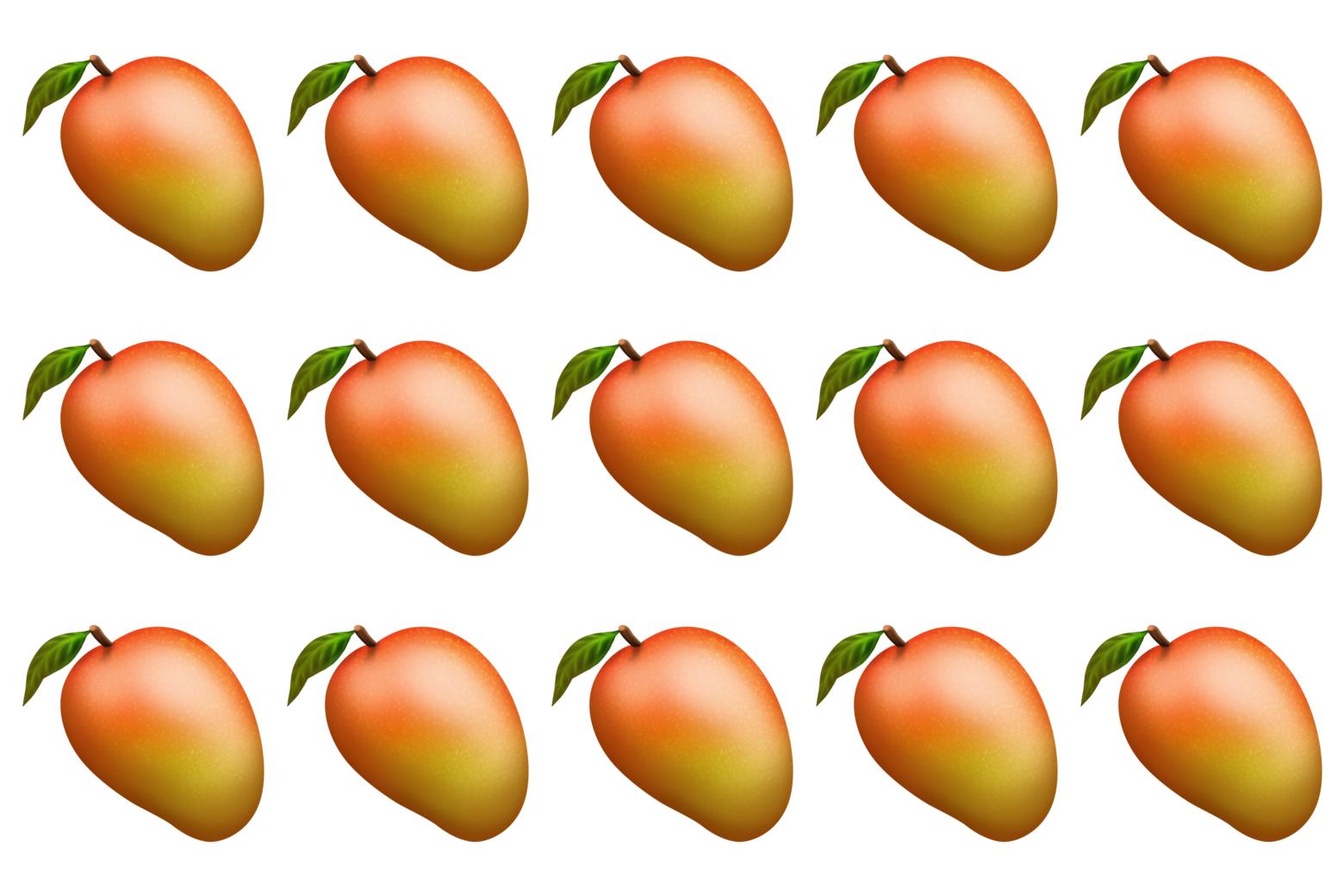 Mango emojis.
