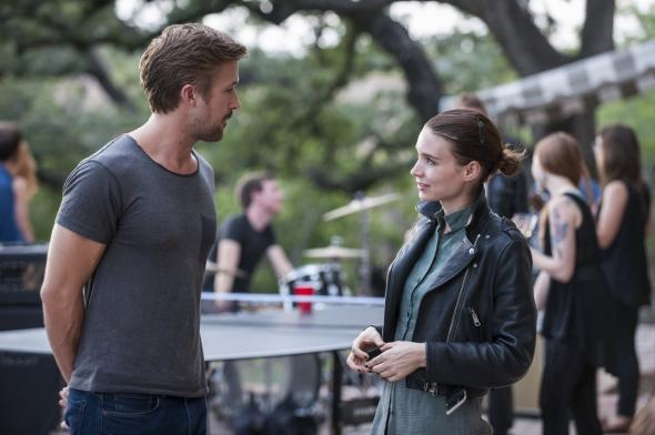 Ryan Gosling and Rooney Mara in Song to Song.