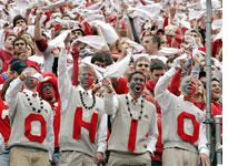 Ohio State Buckeyes fans. Click image to expand.