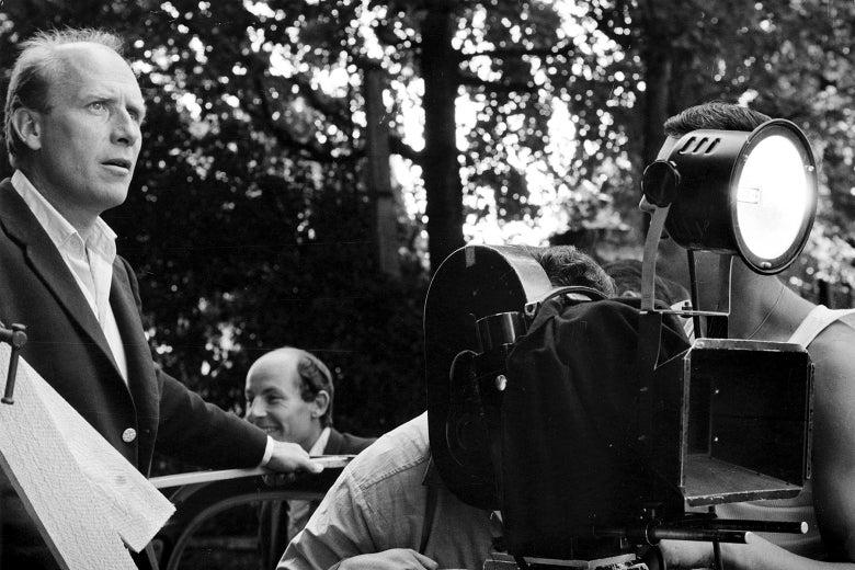 Albert Lamorisse in Paris shooting The Red Balloon.