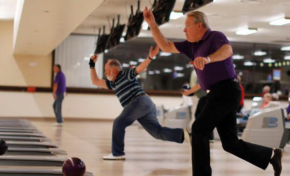 Retirees bowl in Sun City in Arizona, America's first active retirement community, January 6, 2013.