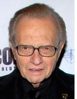 Larry King. Click image to expand.