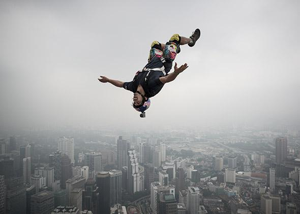 Base jumper.