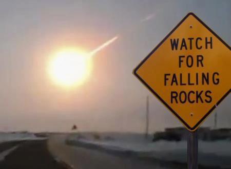 Watch for falling rocks.