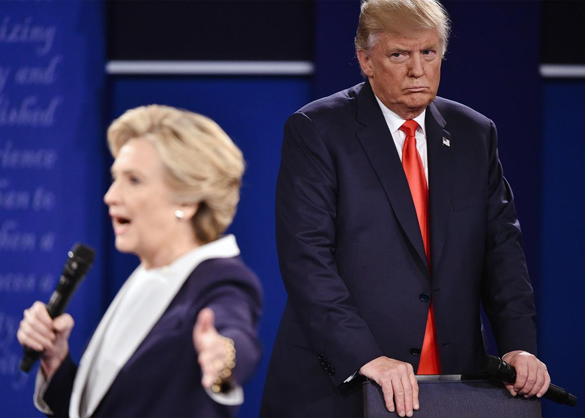 Trump Clinton Debate Looming