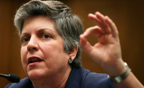 U.S. Homeland Security Secretary Janet Napolitano knows there's just one surefire way to make sure no one reads your emails.