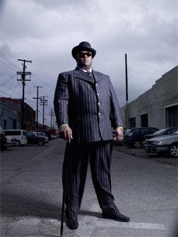 Jamal Woolard as Biggie Smalls.