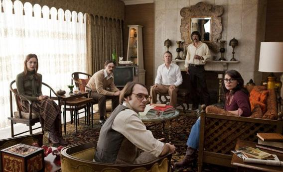 Tate Donovan, Rory Cochrane, Clea DuVall, Scoot McNairy, Joe Stafford, Christopher Denham and Kerry Bishé in Argo.