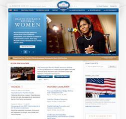 Screengrab of Whitehouse.gov.