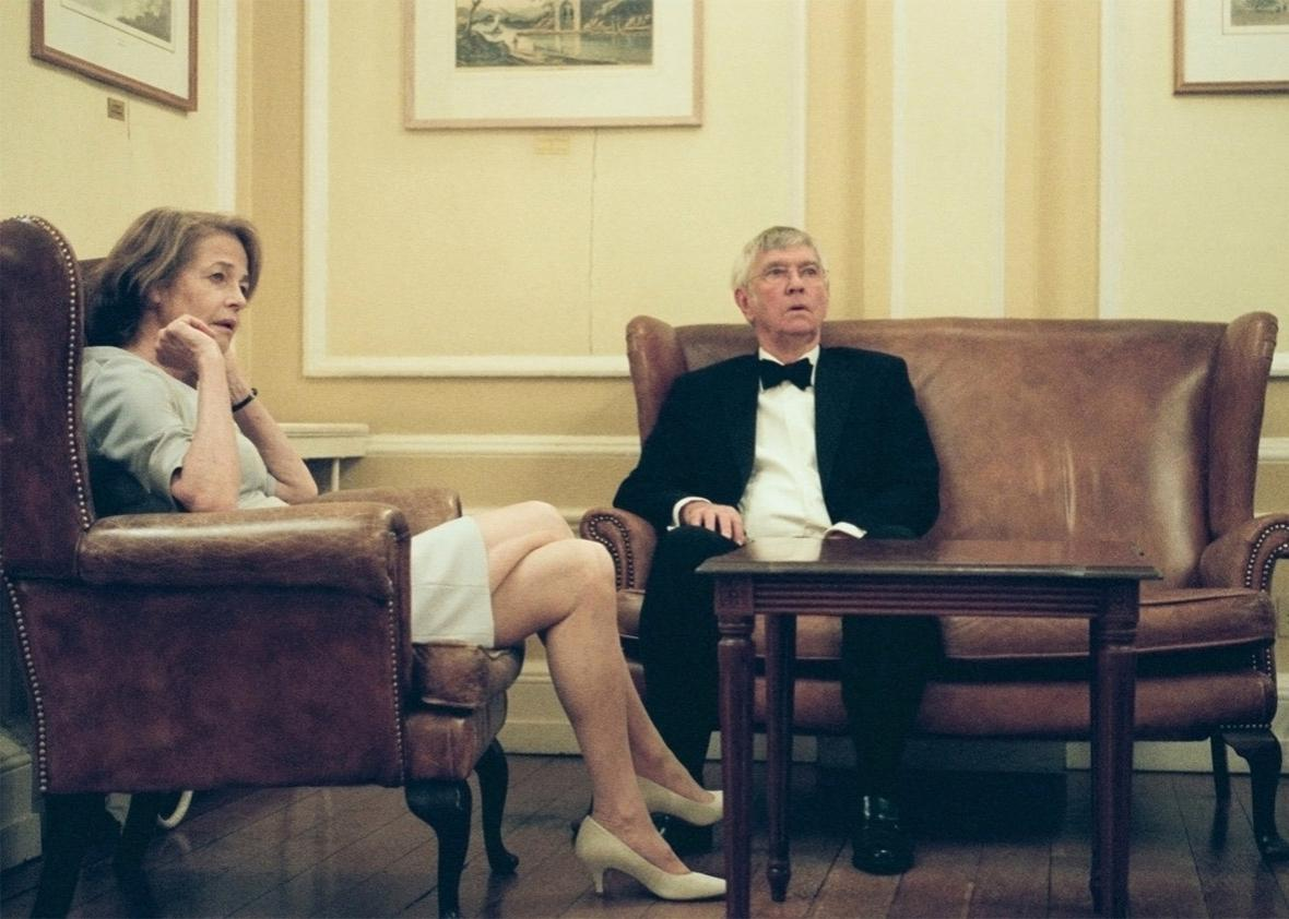 Charlotte Rampling and Tom Courtenay in 45 Years.