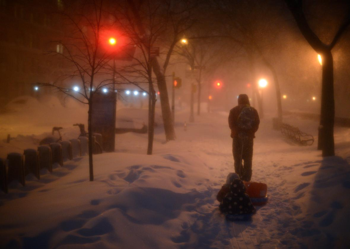 How Global Warming Helped Turn the Blizzard of 2016 Into a Record-Breaking Storm