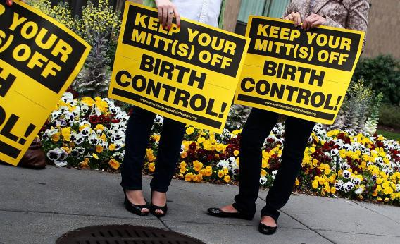 Birth control supporters.