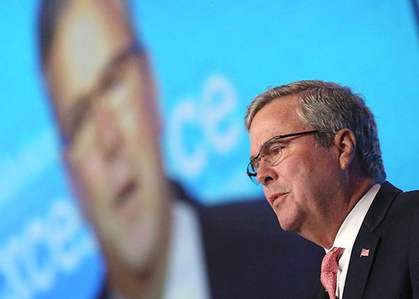 Jeb Bush speaks in Washington, D.C., on Nov. 20, 2014