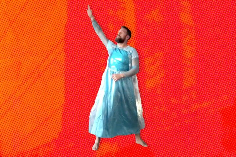 Ørjan Burøe, the Frozen fairy dad.