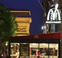 McDonald's in Paris.